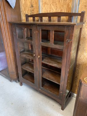"""Antique Cabinet 44""""wide x 14""""deep x 5'tall for Sale in Washougal, WA"""