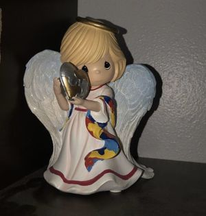 Limited Edition Ceramic Precious Moments Autism Awareness Doll - PLEASE READ DESCRIPTION for Sale in Federal Way, WA