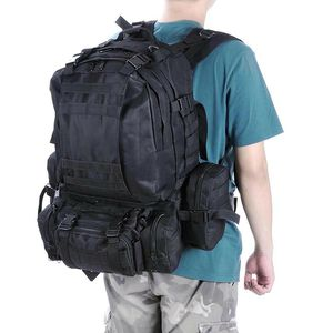 Sports Camping Hiking Bag 55L Outdoor Military Molle Tactical Backpack Oxford for Sale in Montclair, CA