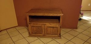 Solid Wood TV Stand for Sale in Phoenix, AZ