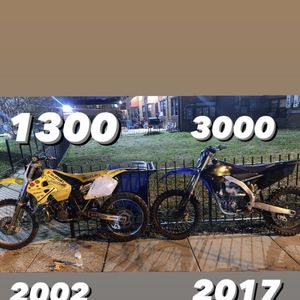 Rm250 & YZF 250 for Sale in Washington, DC