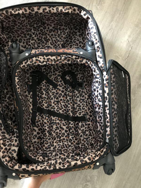 Nicole hiller luggage set! Large + small