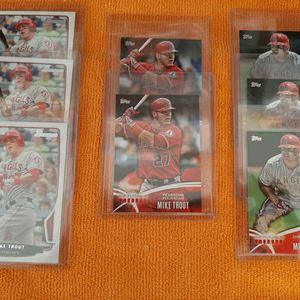2013- 14 Topps Los Angeles Angels Mike Trout 8 Cards Lot for Sale in Kissimmee, FL