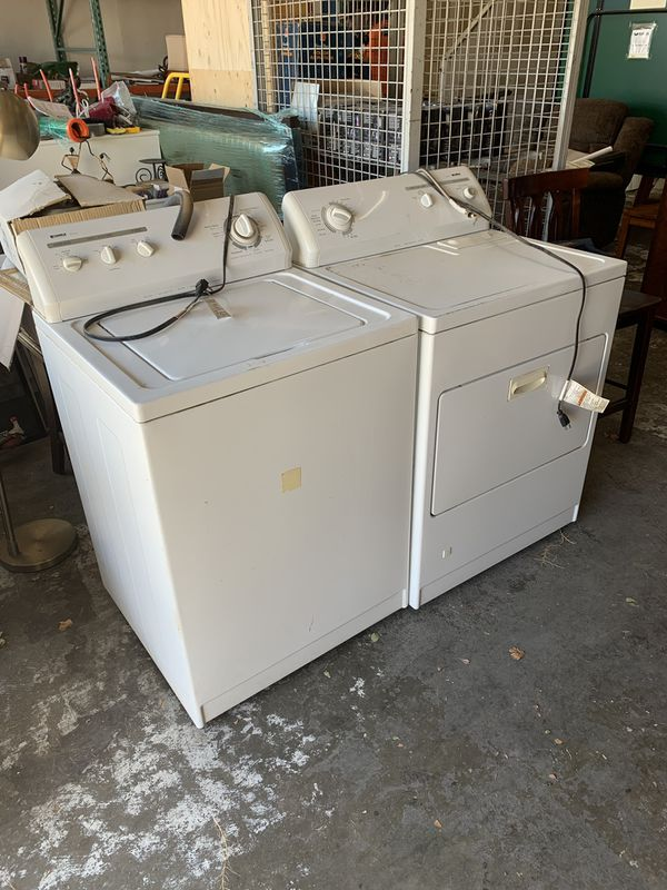 Gas Dryer & Washer