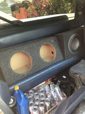 Subzero Dual TEN INCH subwoofer box for Sale in Chandler, AZ
