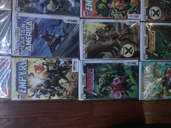Marvels Comics Massive Event!!! Empyre: The Complete Story and Every Tie-In!!! LIMITED EDITION AND MINT CONDITION