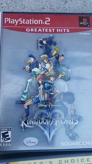 PS2 Kingdom Hearts for Sale in Bonita, CA