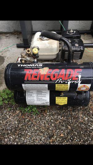 Renegade 4 gallon gas compressor. Gx 120 Honda 4.0 for Sale in Livermore, CA