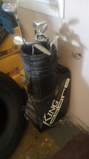 Cobra golf bag and clubs for Sale in Riverview, FL