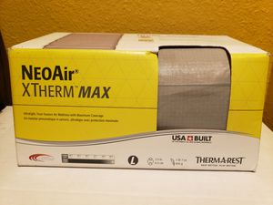 ThermaRest NeoAir XTherm Max Ultralight, Fourseason Air Mattress Size L new selling it for only $130 for Sale in Long Beach, CA
