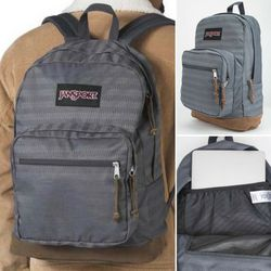 Brand NEW! Jansport Grey Backpack For School/Traveling/Work/Outdoors/Sports/Gym/Gifts/Sports for Sale in Carson,  CA