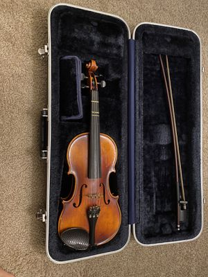 Violin with bow and case for Sale in Falls Church, VA