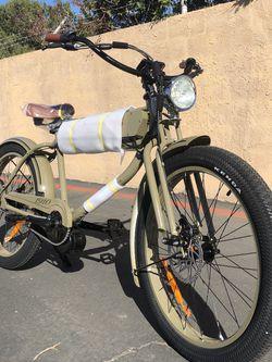 "Phantom Bikes ""1910"" Men's fat tire 750W electric bikes!!!! for Sale in Huntington Beach,  CA"