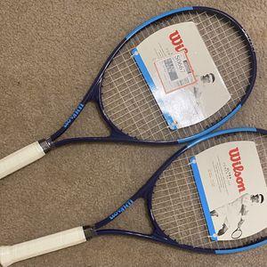 TWO Wilson Ultra Power XL 112 Tennis Racket for Sale in Arlington, VA