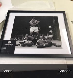 Muhammad ali framed wall art 14x18 for Sale in New York, NY
