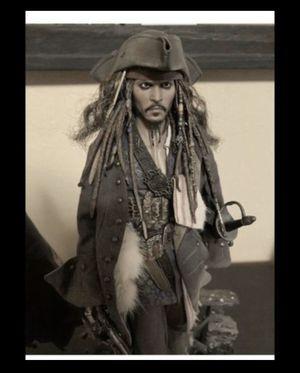 Hot toys Johnny Depp jack sparrow figure $300 for Sale in Phoenix, AZ