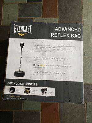 Everlast Advanced Reflex Punching Bag Boxing for Sale in Arlington, VA