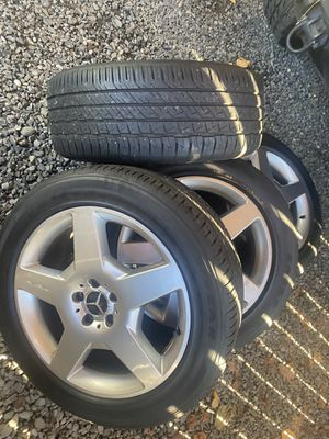 Mercedes amg oem wheels 19x8.5 for Sale in Renton, WA