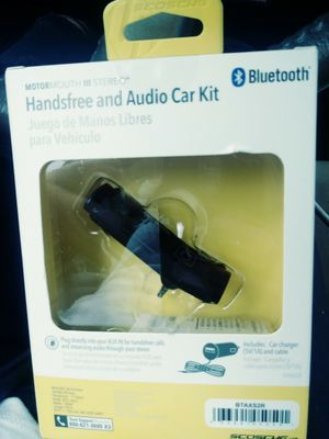 Handsfree and audio bluetooth for Sale in Southborough, MA