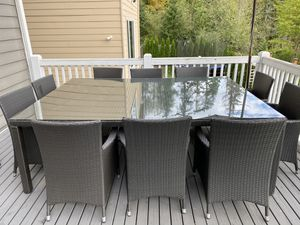 Giant outdoor dining table for Sale in Issaquah, WA