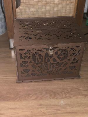 Wedding card box (rose gold) for Sale in Willingboro, NJ