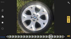 4 llantas con todo y rines se las quite a un BMW X3 2005 255-45ZR18 están 2-3 $200 maracas, como ven for Sale in Norwalk, CA