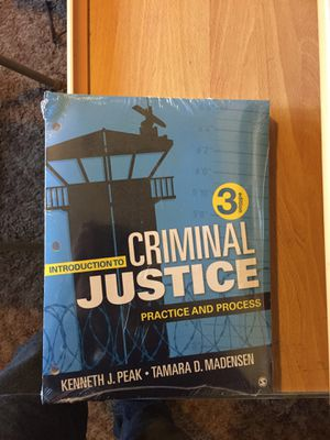 Criminal justice Textbook for Sale in Chico, CA