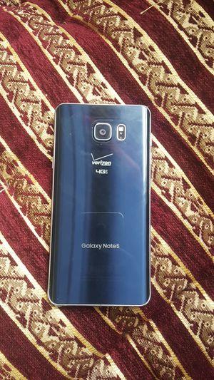 Galaxy note 5 Verizon factory unlock 32gb for Sale in Hamtramck, MI