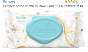Pampers wipes: 60 count in a pack, 8 packs for $30. Newborn diapers 3 packs for $25 for Sale in Brooklyn, NY