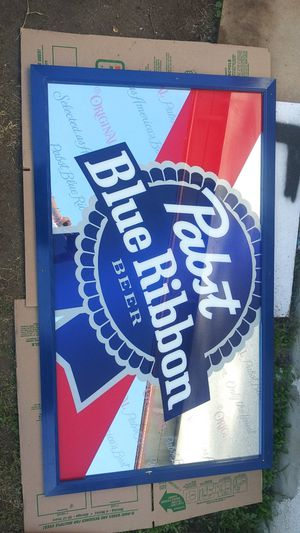 Pabst Blue Ribbon Beer bar mirror for Sale for sale  San Diego, CA