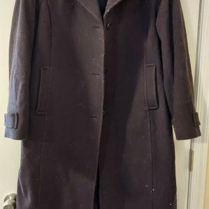 Women's LLBean Navy Wool Winter Dress Coat - Long for Sale in Alexandria, VA