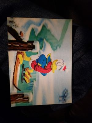 Disney 3 d card for Sale in US