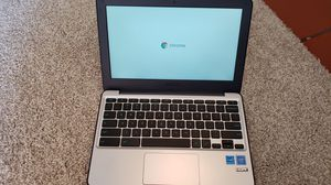 """ASUS Chromebook 11.6"""" Ruggedized and Water Resistant Design with 180 Degree (Intel Celeron 4 GB, 16GB eMMC, Dark Blue, Silver) for Sale in Redmond, WA"""
