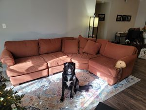 FREE! Macy's Sectional Sofa (Slightly Damaged) for Sale in Austin, TX