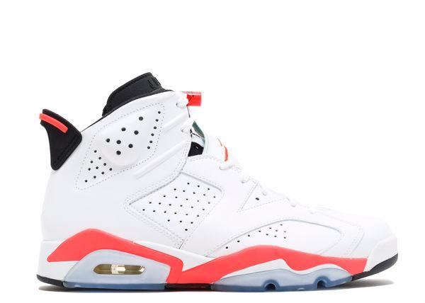 Jordan 6 retro white & orange size 14