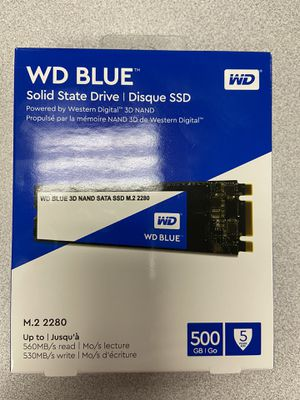 Western Digital Blue SSD for Sale in Dallas, TX
