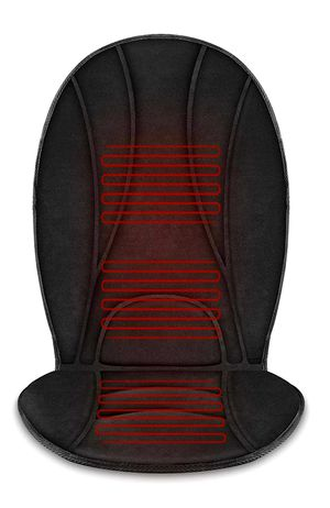 Heated Car Seat Cushion - 3 Fast Heating Pads with Auto Shut Off, Adjustable 2 Heat Levels, Car seat Warmer, Seat Heater,Seat w12V Universal Fit for Sale in Arlington, TX