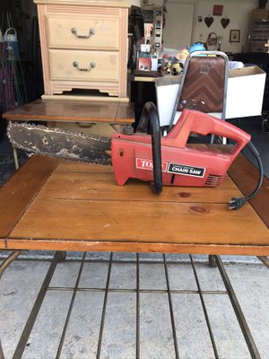 Electric toro chainsaw for Sale in Las Vegas, NV
