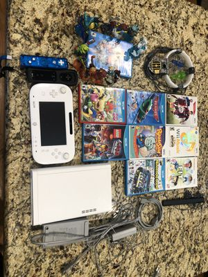 Nintendo Wii U with games for Sale in Schaumburg, IL