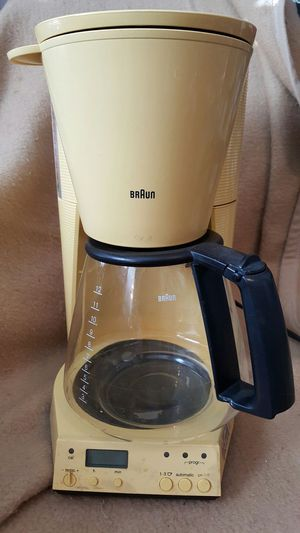 Braun auto 12 cup coffee maker for Sale in West Palm Beach, FL