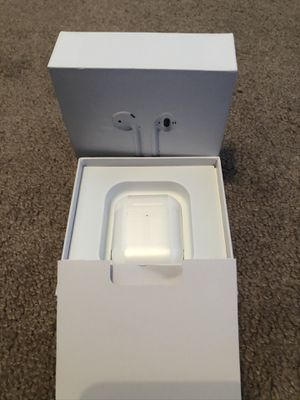 AirPods gen 2 with charging case for Sale in Peoria, AZ
