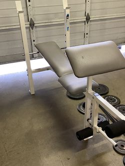 Weight Bench Press Weight Weight And Barbells for Sale in Kent,  WA