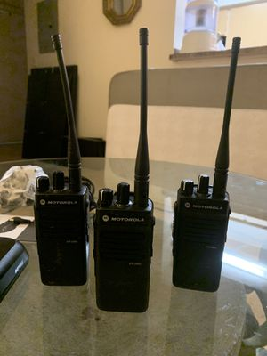 3 individual radios set Motorola XPR 3300e VHF Two Way Radio for Sale in Fort Lauderdale, FL