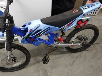 Boys Bike With Shocks And Disc Brakes Looks Like A Dirt Bike Motorcycle for Sale in Portland,  OR