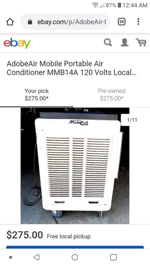 Mobile Master cooler portable AC unit for Sale in Pasadena, TX