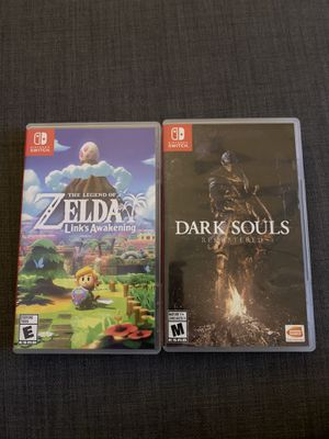 Nintendo switch games Links Awakening and Dark Souls for Sale in Mesa, AZ