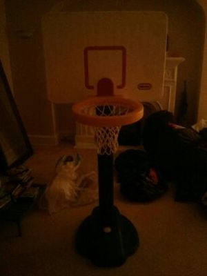 Little tikes basketball hoop kids boys toddler for Sale in Chicago, IL