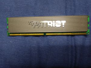 Patriot Memory 2 GB DDR2 667 mhz RAM for Sale in Kearns, UT