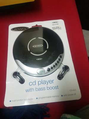 Jensen cd player with bass boost for Sale in Hawthorne, CA