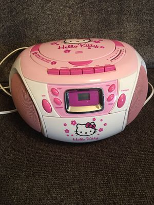 HELLO KITTY CD PLAYER for Sale in Burkburnett, TX